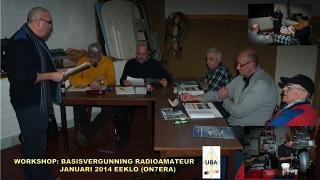 ON4CLQ en de cursisten in actie